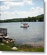 New England Lake Vacation Metal Print