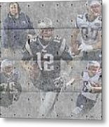 New England Patriots Team Metal Print