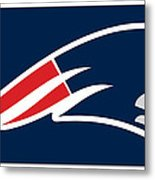 New England Patriots Metal Print by Tony Rubino