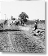 New England Road, C1910 Metal Print