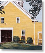 New England Roots Metal Print