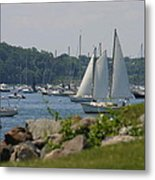New England Seascape Metal Print