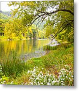 New Englands Early Autumn Metal Print