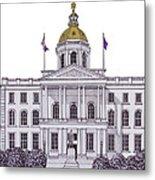 New Hampshire State Capitol Metal Print