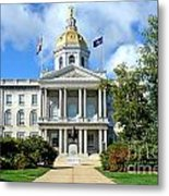 New Hampshire State Capitol Metal Print