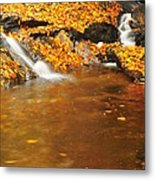 New Hampshire Stream Metal Print by Catherine Reusch Daley