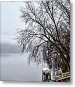 New Hope Ferry Metal Print