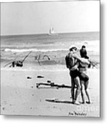 New Jersey Shore  1964 Metal Print by   Joe Beasley
