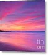 New Jersey Sunrise Metal Print