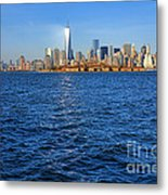 New Light On The Water Metal Print by Olivier Le Queinec