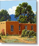 New Mexico Adobe Metal Print