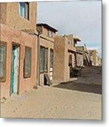 New Mexico Buildings Metal Print