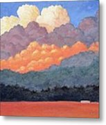 New Mexico Cloudscape  Metal Print