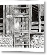 Will Build To Suit New Mexico Doors Metal Print