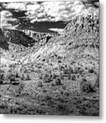 New Mexico Mountains Metal Print