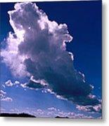 New Mexico Sky Metal Print
