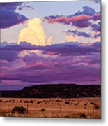 New Mexico Sunset Metal Print