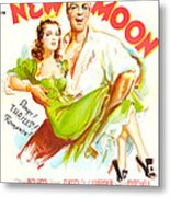 New Moon, Us Poster, Nelson Eddy Metal Print
