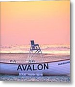 New Morning In Avalon Metal Print