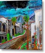 New Old Town La Quinta Metal Print