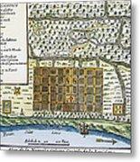 New Orleans, 1718-20 Metal Print