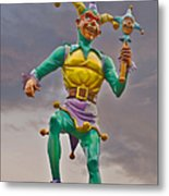 New Orleans - Canal Street Ferry Jester Metal Print by Christine Till