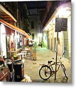 New Orleans - City At Night - 121216 Metal Print