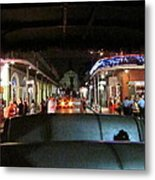 New Orleans - City At Night - 121217 Metal Print