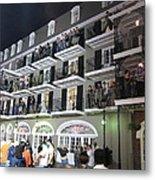 New Orleans - City At Night - 12122 Metal Print