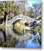 New Orleans City Park Metal Print