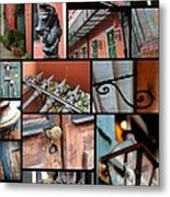 New Orleans Collage 2 Metal Print