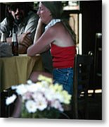 New Orleans: Couple Metal Print