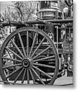 New Orleans Fire Department 1896 Bw Metal Print