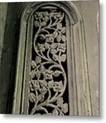 New Orleans French Quarter Ironwork Metal Print