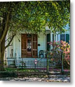 New Orleans Home 8 Metal Print