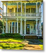 New Orleans Home - Paint Metal Print
