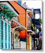 New Orleans Living Metal Print