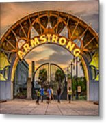 New Orleans Louis Armstrong Park  2 Metal Print