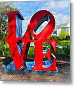 New Orleans Love 2 Metal Print