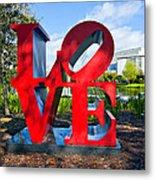 New Orleans Love Metal Print