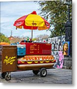 New Orleans - Lucky Dogs  Metal Print by Steve Harrington
