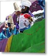 New Orleans - Mardi Gras Parades - 121210 Metal Print