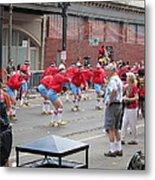 New Orleans - Mardi Gras Parades - 1212105 Metal Print