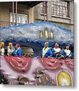 New Orleans - Mardi Gras Parades - 1212113 Metal Print