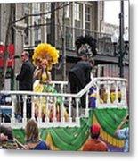 New Orleans - Mardi Gras Parades - 1212120 Metal Print