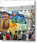 New Orleans - Mardi Gras Parades - 1212126 Metal Print