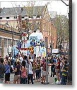 New Orleans - Mardi Gras Parades - 1212127 Metal Print
