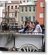 New Orleans - Mardi Gras Parades - 1212145 Metal Print