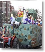 New Orleans - Mardi Gras Parades - 121215 Metal Print