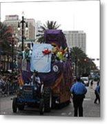 New Orleans - Mardi Gras Parades - 121226 Metal Print